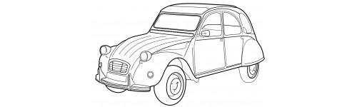 citroen 2cv zeichnung