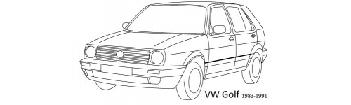 VW GOLF II 1983-1991